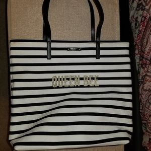 Kate Spade Queen Bee Bon Shopper tote